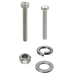Socket Head Cap Screws, Hex Screws, Nuts, Washers, Spring Washers - 1.4404 Equivalent