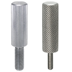 Raised Knurled-Head Thumb Screw Thread Size M5-0.8 18-8 Stainless Steel