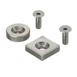 Magnets - With Countersink