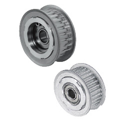 Flanged Idlers with Teeth - Center Bearing