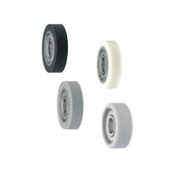 Silicon Rubber/Urethane Molded Bearings/Flat