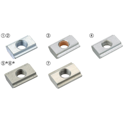 8 Series/Post-Assembly Insertion Stopper Nuts