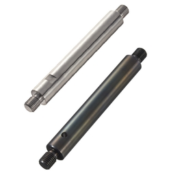 Both Ends Threaded Shafts with Undercut and Cross-Drilled Hole/Wrench Flats