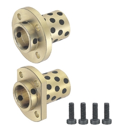 Oil Free Bushings/Flange Integrated/Pilot/Round/Compact Flanged