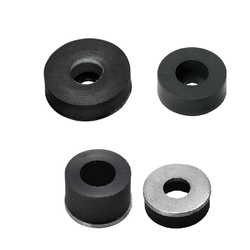 Stoppers with Washers/Urethane Type/Low Elastic Rubber
