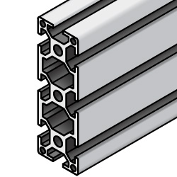 6 Series/slot width 8/90x30mm, Parallel Surfacing