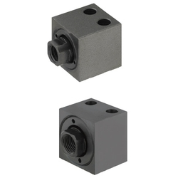 Floating Connectors/Extra Short Type/Foot Mount/Tapped