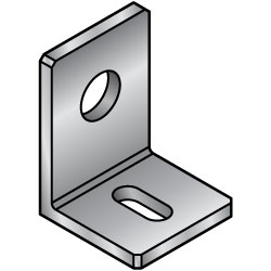 L Shape Finished Angle Mounting Plates/Brackets