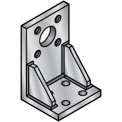 Welded Mounting Plates/Brackets/L-Shaped