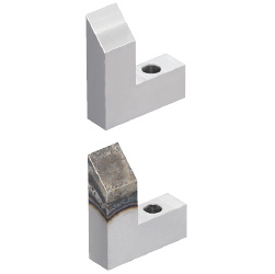 Locators (Horizontally Inclined) One Dowel Hole and One Through Hole Type