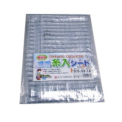 Sheet With Transparent Thread (Thickness 0.15 mm)