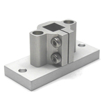 Square Pipe Joint Vertical Holes for  Aluminum Frames