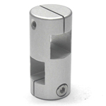 Stainless Steel Square / Round Hole Pipe Joint, Square Type