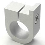 Round Pipe Joint, Same Diameter Hole Type, Shelf Board Support - Square Shape