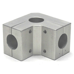 Round Pipe Joint Same Diameter Bore Type for Off-Center Corners