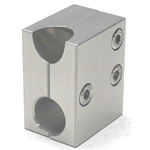 Round Pipe Joint, Same Diameter Hole Type, Split, for 45° Struts