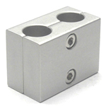 Round Pipe Joint, Same Diameter Hole Type, Two Split Parallel Shaft Holes
