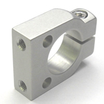 Round Pipe Joint Same Diameter Bore Type with Screw Holes Machined in 2 Places (ø25 or More)