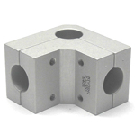 Round Pipe Joint Same Diameter Bore Type for Corners
