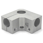 Round Pipe Joint Same Diameter Bore Type for External Fastening of Thin Corners