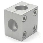 Round Pipe Joint, Same Diameter Hole Type, Split Cross Shaped