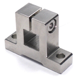 Stainless Steel Square/Round Bore Pipe Joint Horizontal Square Type