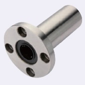 Linear Bushing with Flange, Standard Type, Long Type, Round Flange