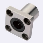 Linear Bushing with Flange, Standard Type, Single Type, Rectangular Flange