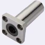 Linear Bushing with Flange, Standard Type, Long Type, Rectangular Flange