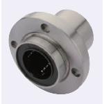 Linear Bushing with Flange, Pilot, Single Type, Round Flange [LMYMFPUU]