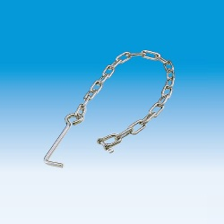 Chain with Anchor (Chain for Preventing Theft of Grating)