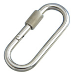 Petite Carabiner (with Ring)