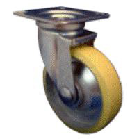 Anti-Static Caster THN Series with Swivel Stopper (OCTRON Urethane Wheel)