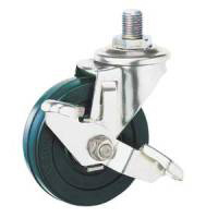 Stainless Steel Caster SU-SEL Series, Swivel with Stopper
