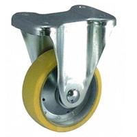 Anti-Static Caster SKM Series, Fixed (OCTRON Urethane Wheel)