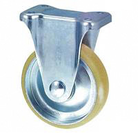 Anti-Static Caster SKM Series, Fixed (Anti-Static Urethane Wheel)