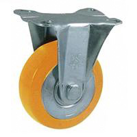 Anti-Static Caster SKM Series, Fixed (Anti-Static Rubber Wheel)