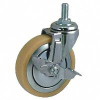 Anti-Static Caster SM Series with Swivel Stopper (OCTRON Urethane Wheel)