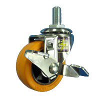 Anti-Static Caster SR Series with Swivel Stopper