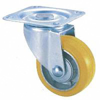 Anti-Static Caster STM Series, Swivel (Anti-Static Rubber Wheel)