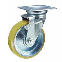 Anti-Static Caster STM Series with Swivel Stopper (Anti-Static Urethane Wheel)