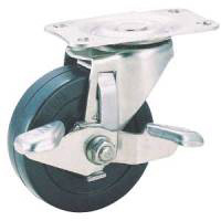 Stainless Steel Caster SU-TEL Series, Swivel with Stopper