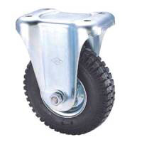 Industrial Caster SKM Series, Fixed (Air-Filled Rubber Wheel)