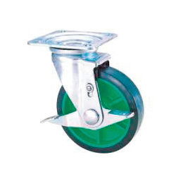 Industrial Casters - STM Series, Swivel Type with Stopper (S-2/S-3)