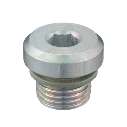 Flange Hex Socket Head Screwed Plug _SPN-H