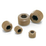 Resin Screw (PEEK/Hexagonal Socket Head Tapered Screw Plug) SPE-R