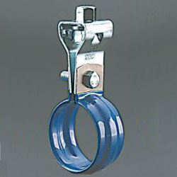 Suspended Piping Bracket, Dip Coated SU Hanging Band with Turn
