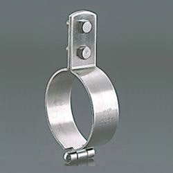 Standing Pipe Fixture / Mounting Leg, Stainless Steel FTP Standing Band BN Type