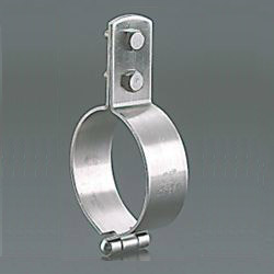 Standing Pipe Fixture / Mounting Leg, Stainless Steel PC Standing Band with BN
