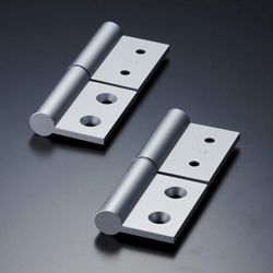 Aluminum Extrusion Hinge for Heavy Loads Fastening Component Set AHB